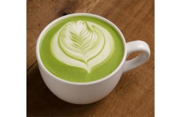 Latte au thé vert matcha (froid ou chaud)